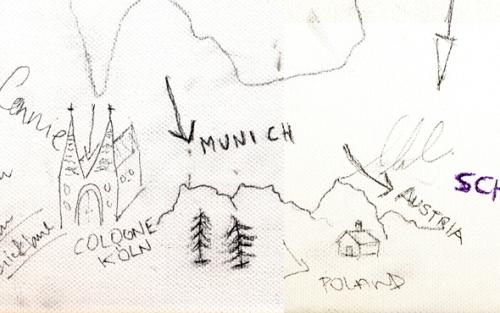 Munich, Cologne, Poland , Austria